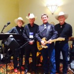 Playing for a Texas Ranger Convention in Dallas